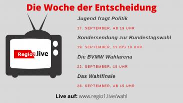 TV Programm zur Bundestagswahl 2021