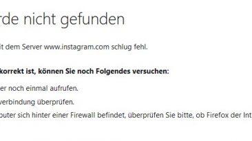 Facebook, Instagram und Whatsapp offline
